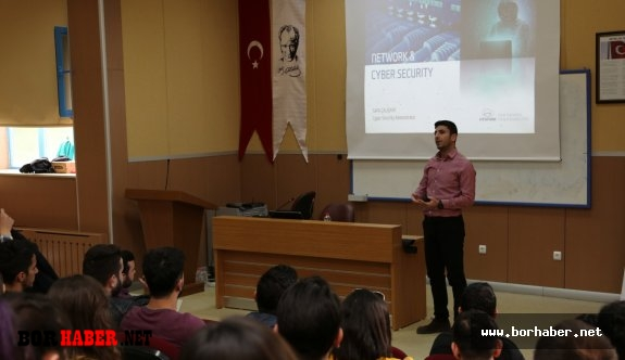 "Üniversitede ""Network And Cyber Security"" Semineri"