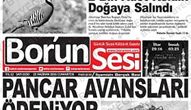 Bor'un Sesi Gazetesi 14 Yaşında